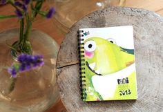 photo #creative #doodle #timeplanner #2013 #calendar #prinzapfel #diary #terminplaner #taschenkalender #scribble