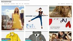 Reserved - Web design inspiration from siteInspire