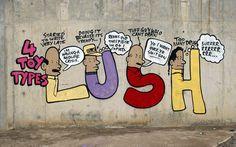 Lush #graffiti #lush #australia