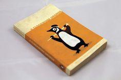 Booketing : The Book Design Blog » Le logo Penguin version Orange Mécanique et 1984 #cover #penguin #book