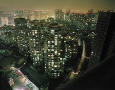 Stunning Chinese Urban Nightscapes by Mark Horn