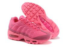 Nike Max Air Running Shoes 95 Em New Releases Pink