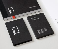 Logo & Branding: Little Black Book « BP&O Logo, Branding, Packaging & Opinion by Richard Baird #stationary