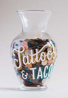 Paint on glass...great idea!