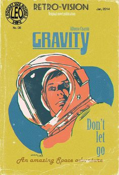 Leolux. Blog de Dibujo: Gravity, The Pulp Cover #gravity #astronaut #design #space #cover #pulp #vintage #film
