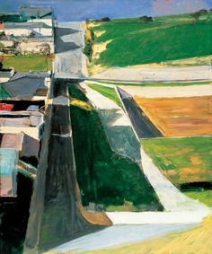 Richard Diebenkorn - Cityscape I, 1963 #perspectives #richard #art #paintings #diebenkorn