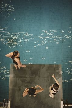 Turning Point by Mark Sanders for Kinfolk - JOQUZ #pool #flip #jump #kinfolk