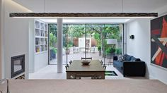 Spencer Road | Chris Dyson Architects #interior #house #architect #dining #design #garden #table