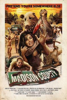 hr_Madison_County_2.jpeg (625×926) #movie #county #slasher #illustration #poster #madison