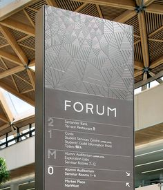 The Forum building | Peter Clarkson #design #branding