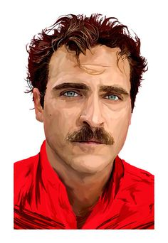 Illustration - 2014 on Behance #joaquinphoenix #her #illustration #spikejonze