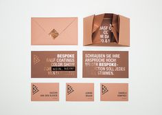 Bespoke on Behance #stationary