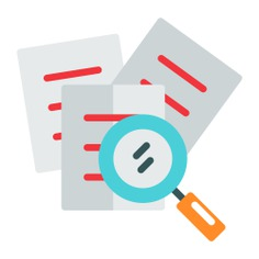 See more icon inspiration related to search, document, file, archive, edit tools and interface on Flaticon.