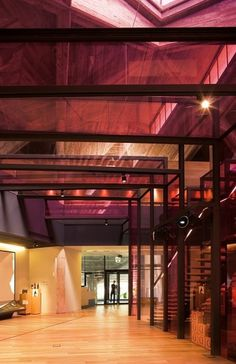 OLARRA'S WINERY on the Behance Network #winery #architecture #burgundy