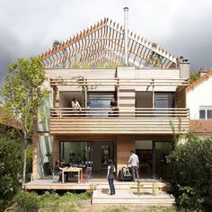 Dezeen » Blog Archive » Eco-Sustainable House by Djuric Tardio Architectes #architecture