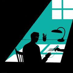 illustration #illustration #dark #room
