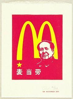 Search of Art Archive - artelino #mcdonalds #print #kristensen #tom #mao #woodblock