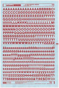 Blade Runner | Typeset In The Future, Letraset, Helvetica