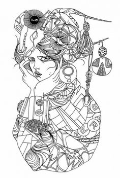 Liselotte Watkins Fashion Illustration – Illustration inspiration on MONOmoda