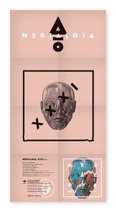Nostalgia XXXI Booklet #music #identity #branding #typography