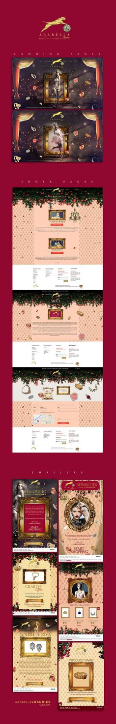 Luxury Brand Layout