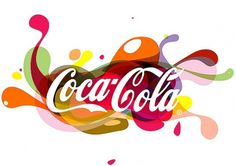 Coca-Cola Logo Illustration | Flickr - Photo Sharing! #creative #turkish #design #graphic #cocacola #coca #logo #cola #illusration
