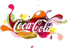 Coca-Cola Logo Illustration | Flickr - Photo Sharing! #creative #turkish #design #graphic #cocacola #coca #logo #cola #illusration