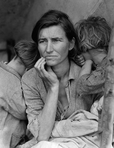 Madre migrante, la fotografía más famosa de dorothea lange