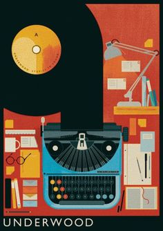 ISO50 Blog – The Blog of Scott Hansen (Tycho / ISO50) » The blog of Scott Hansen (aka ISO50 / Tycho) #lemanskis #mike #posters #ilustracin