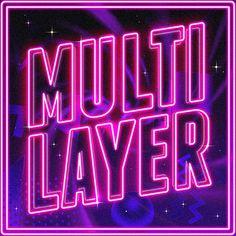 Scutheotaku / Multilayer | PICDIT #design #graphic #art #album #type