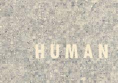 Human / Inhuman by Ivorin Vrkaš #pictogram #croatia #hand #pixel #human #poster #ivorin #pencil #thought #stream