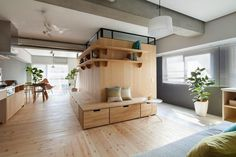 Fujigaoka M by Sinato Architects #interior #design #japan #modern