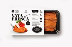 Sandro Desii on Packaging of the World - Creative Package Design Gallery #packaging #fresca #pasta #black&white