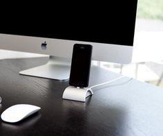 iDockAll Silver Dock for iPhones and iPods #iphone #dock #gadget #smartphone