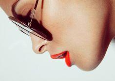 W E L L ※ F E D #closeup #woman #lipstick