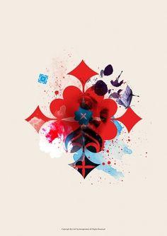Flower Language on the Behance Network #ink #design #graphic #illustration #typography