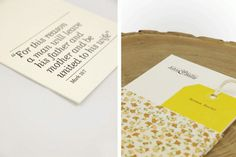 John & Sally Wedding Invitations - FPO: For Print Only