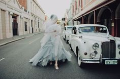 Haute Hippie Spring 2012 Collection #bride #old #wedding #car