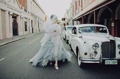 Haute Hippie Spring 2012 Collection #bride #old #wedding #car
