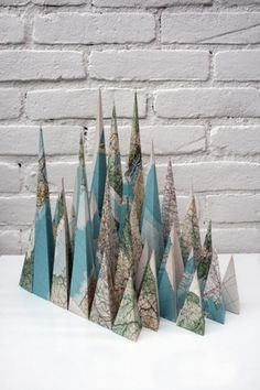Map Mountains : Louis Reith #hand #made