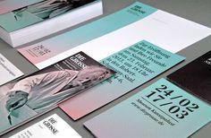 DIE GROSSE Kunstausstellung NRW Branding on Behance #die #print #design #graphic #gross #rainbow