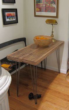 Reclaimed Kitchen Table Reclaimed Traincar Oak #table