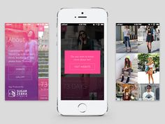 Fashion App #fashion #app #web