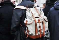 tumblr_l1cs1innBM1qau50i.jpg (JPEG Image, 500x346 pixels) #fashion #backpack #accessories #bags