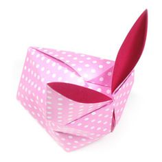 How to make a traditional origami rabbit (http://www.origami-make.org/howto-origami-rabbit.php)
