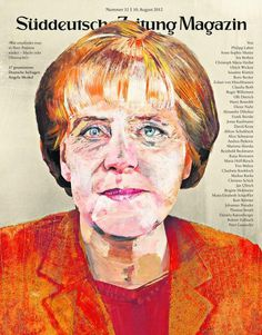 Suddeutsche Zeitung Mag (Germany) #cover #illustration #portrait #painting #magazine
