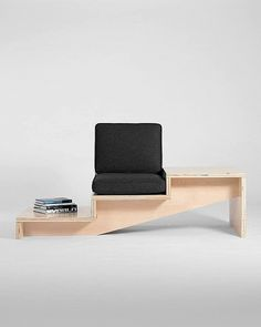 steps seat and side table system by Geof Ramsay #modern #design #contemporary #furniture #minimalist