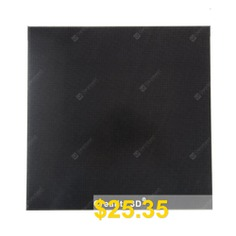 Creality #3D #Printer #Platform #Heated #Bed #Ultra #Base #Glass #Bed #For #Ender #3 #- #BLACK