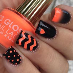45 CHEVRON NAIL ART IDEAS