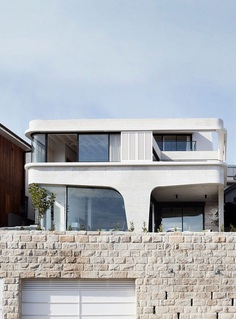 Tama's Tee House: A Coastal Concrete Unipod by Luigi Rosselli